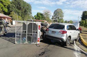 En lo que va del año 2019, se han registrado en Chiriquí cinco muertos por accidente de tránsito, tres de ellos por atropello. Foto/Mayra Madrid