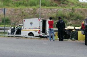 Un centenar de muerte por accidente de tránsito en el 2019. Foto/Redes Sociales
