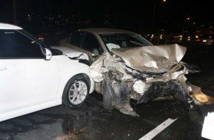 El chatear y la alta velocidad son las principales  causas de los accidentes de tránsito.