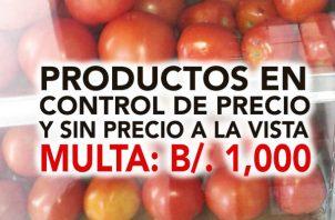 Comercios insisten en vender productos muy por encima del control de precios.