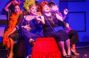 Una escena de 'La madre que me parió'. Foto: Cortesía Teatro La Estación.