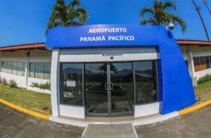 El Aeropuerto Internacional Panamá Pacífico  manejó entre enero y julio de este año, un total de 161, 648 pasajeros.