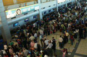 En la primera mitad del año, llegaron a Panamá vía Aeropuerto de Tocumen 1, 217,209 pasajeros. Foto/Aeropuerto de Tocumen