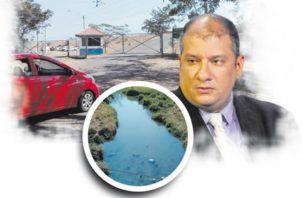 Las aguas servidas de uno de los proyectos mineros de Colón están siendo vertidas en las lagunas de oxidación.