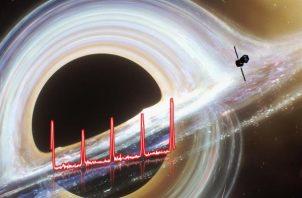 El agujero negro está ubicado a unos 250 millones de años luz