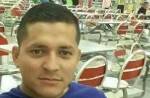 Cabo segundo de la Policía Nacional , Agustín Muñoz, en vida. Foto: Eric A. Montenegro.
