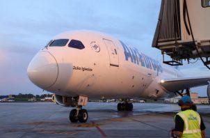 Air Europa tendrá cuatro frecuencias semanales Madrid-Panamá, y viceversa.