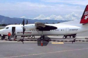 Air Panamá ofreció disculpas a los pasajeros por los inconvenientes causados. Foto: Cortesía.