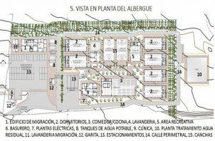 La empresa Constructora Urbana, S.A (CUSA) construirá albergue en Darién. Foto/Cortesía