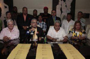 20 mil firmas aspiran a recolectar para lograr la candidatura de Ricardo Martinelli para la alcaldía de Panamá. /Foto Víctor Arosemena
