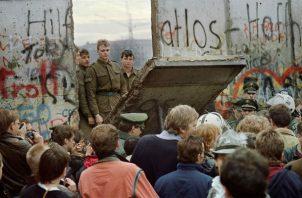El mensaje desde la caída del Muro de Berlín en 1989 por lo general ha sido de triunfo y esperanza. Ya no. Foto/ Gerard Malie/Agence France-Presse — Getty Images.