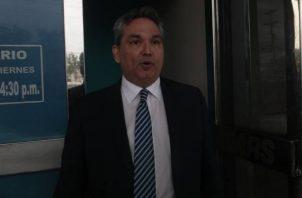 Alfredo Castillero Hoyos fue destituido por el pleno de la Asamblea Nacional por supuesta negligencia.