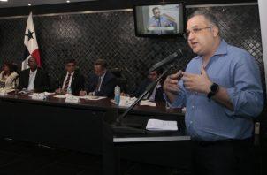 Abogado Alfredo Vallarino propuso puntos específicos para evitar que casos de alto perfil paralicen el sistema.  Foto de Víctor Arosemena