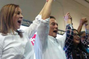 Laurentino Cortizo es el candidato presidencial del PRD. Foto/Archivos