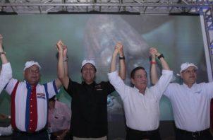 El Directorio Nacional del PRD ratificó ayer la alianza, por primera vez, con el Molirena. /Foto Víctor Arosemena