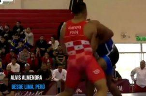 Alvis Almendra brindó a Panamá su primera medalla en los Juegos Panamericanos de Lima. Foto/Cortesía