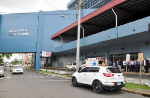 Los heridos fueron trasladados al Hospital Manuel Amador Guerrero.