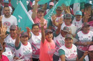 Ana Rosas es candidata a diputada por el circuito 4-6 en la provincia de Chiriquí.