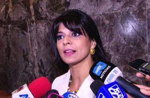 Angélica Maytín se enfada tras leer carta de Franz Wever y la califica de desafortunada. Foto: Panamá América.