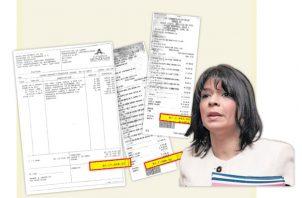 La parte financiera fue coordinada directamente por la zarina anticorrupción, Angélica Maytín