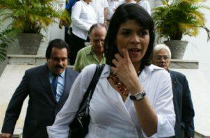 Todos esperan el informe millonario de Angélica Maytín. Foto/Panamá América