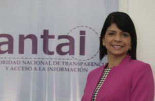 Angélica Maytín tiene un bloqueo para reacciones ante la actual situación del país. Archivo