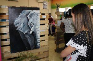 Una obra de  'Animal Kingdom'. El público aprecia el talento de los noveles artistas. Cortesía
