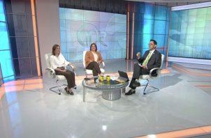 Mariela Ledezma y Annette Planells van hoy a audiencia por calumniar a Ricardo Martinelli. Foto: Panamá América.
