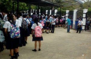 Los estudiantes ya tienen su cronograma para el próximo año. Foto: Panamá América