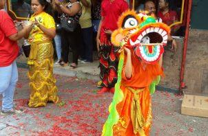 Año Nuevo Chino en Panamá. Foto/Roberto Barrio