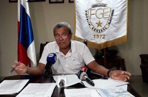 El fiscal electoral Eduardo Peñaloza aclara que su posición está basada en el respeto a las leyes y no por afinidades de tipo política.