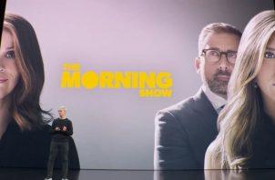 El servicio de Apple TV Plus ofrecerá una serie de programas, películas y documentales originales, incluyendo The Morning Show.