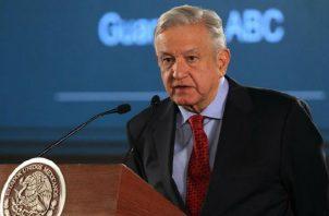 """""""Lo mejor es el libre comercio"""", dice López Obrador antes de reunión con EEUU. Foto: EFE."""