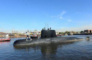 """habiéndose investigado el (Punto Dato) POI 24 informado por la empresa Ocean Infinity, mediante la observación realizada con un ROV (vehículo de observación remota) a 800 mts de profundidad, se ha dado identificación positiva al submarino ARA """"San Juan""""."""