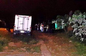 Tres muertos tras balacera en Arraiján; la policía capturó a un sospechoso. Foto: Grupo Élite.
