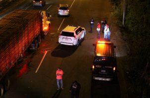 El accidente se registró la noche del domingo en la autopista Arraiján – La Chorrera.