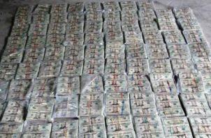 Las investigaciones por esta incautación de dinero en el distrito de Arraiján, provincia de Panamá Oeste continúan. @PGN_PANAMA.