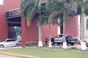 Asaltan el Casino Crown del Hipódromo Presidente Remón
