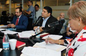 A primer debate, iniciativa legislativa que regula la utilización del poliestireno expandido (foam) . Foto/Asamblea