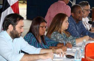 Las consultas nacionales iniciaron la semana pasada en Bocas del Toro. Foto de la Asamblea Nacional