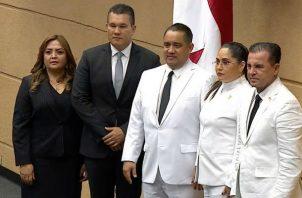 Marcos Castillero es elegido como nuevo presidente de la Asamblea Nacional. Foto: Panamá América.