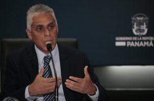 Jorge González, ministro de la Presidencia, espera ratificación de la Asamblea Nacional Archivo