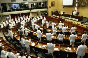 La presidencia de la comisiones de Presupuesto y Credenciales eran para Benicio Robinson y Raúl Pineda respectivamente.