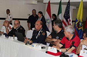 La Asamblea Anual de la Organización de Bomberos Americanos se celebró en Panamá.