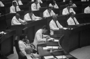 Miembros de la nueva Asamblea Nacional. De los tres mecanismo para reformar la Constitución, dos son por vía de la Asamblea Nacional. Foto: Víctor Arosemena, Epasa.