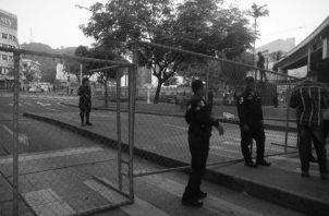 Llamó la atención el sitio militar del día 2 de enero a la Asamblea Nacional. Foto: Víctor Arosemena/EPASA.