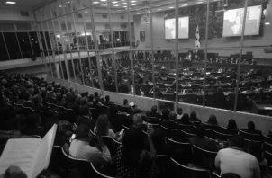 Profesionales de movimientos independientes y jóvenes, pretenden eliminar el clientelismo prohibiendo la reelección de diputados o señalando a determinados miembros de la Asamblea Nacional como inelegibles. Foto: Archivo.
