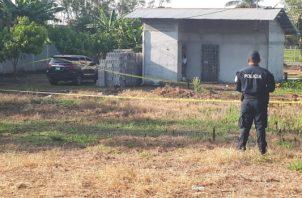 El homicidio del Comisionado de la Policía Nacional Samuel Espinoza Linsays de 55 años ocurrió el 3 de abril de 2018 en la comunidad de Santa Marta.