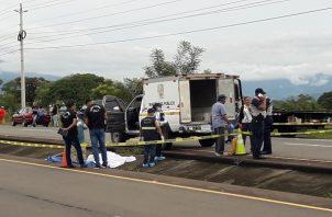 Las estadísticas por accidentes de tránsito aumentan a 36 las personas que han perdido la vida en las calles de la provincia de Chiriquí. Foto/Mayra Madrid