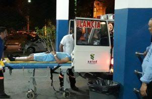 Unidades de la Dirección de Operaciones del Tránsito en la provincia de Chiriquí, mantienen las investigaciones de este accidente, lo que aumenta las cifras por accidente de tránsito en lo que va del año 2019 a 31 víctimas. Foto/Mayra Madrid